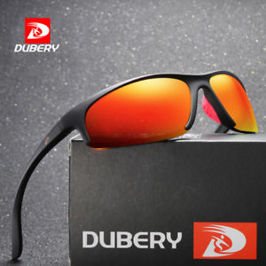 DUBERY Men Polarized Sport Sunglasses Outdoor Driving Riding Fishing Glasses Hot