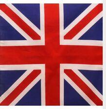 Bandana - English British Empire Union Jack Flag Style 100% Cotton 55x55cm