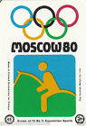 EQUITATION EQUESTRIAN SPORT MOSCOU Moscow Olympic GAMES MATCHBOX LABEL 1980