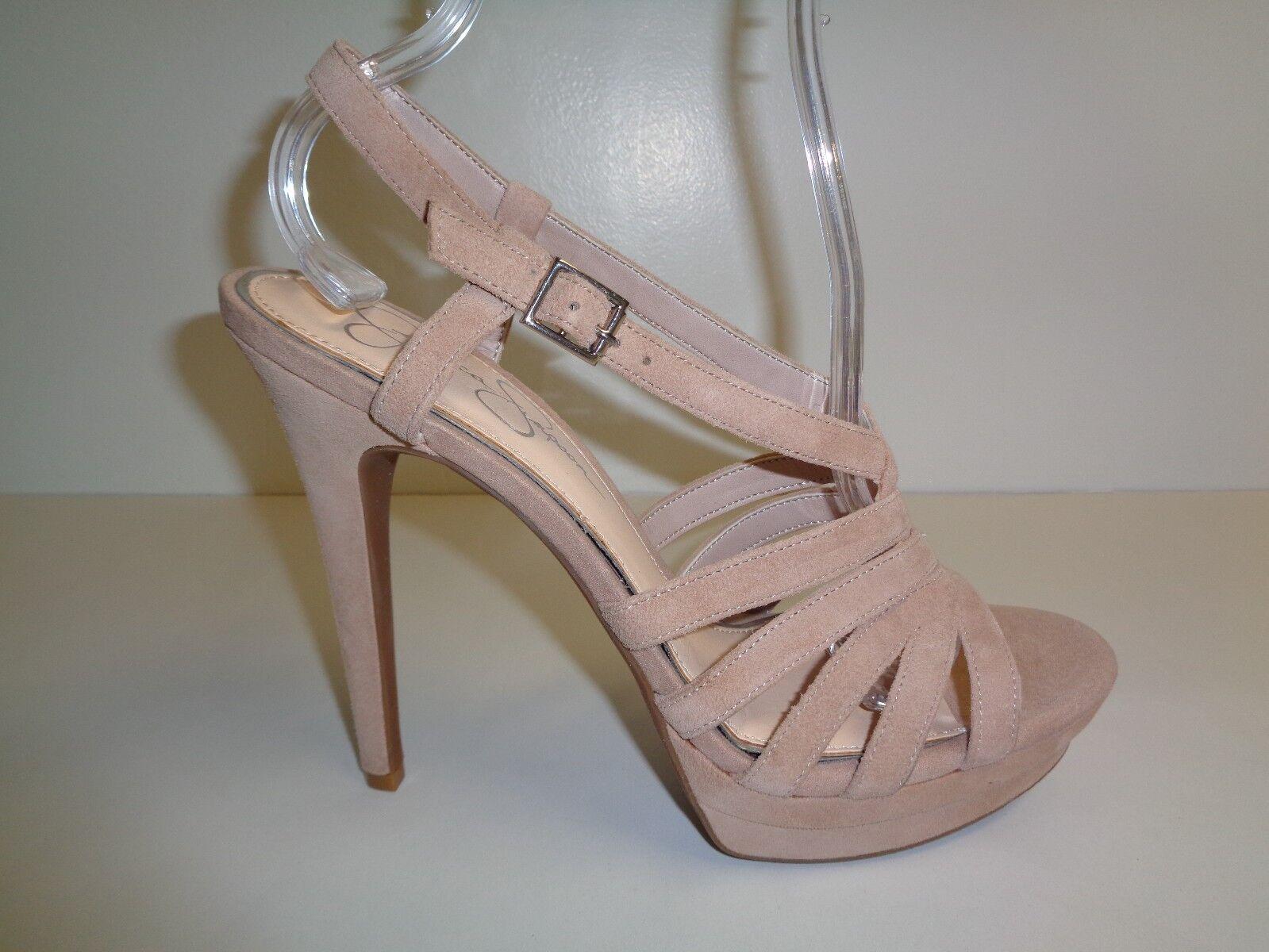 Jessica Simpson Size 10 M PEACE Sandbar Suede Platform Sandals New Womens shoes