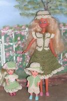 Crochet Fashion Doll Pattern-ics Designs-396 Babysitter 1
