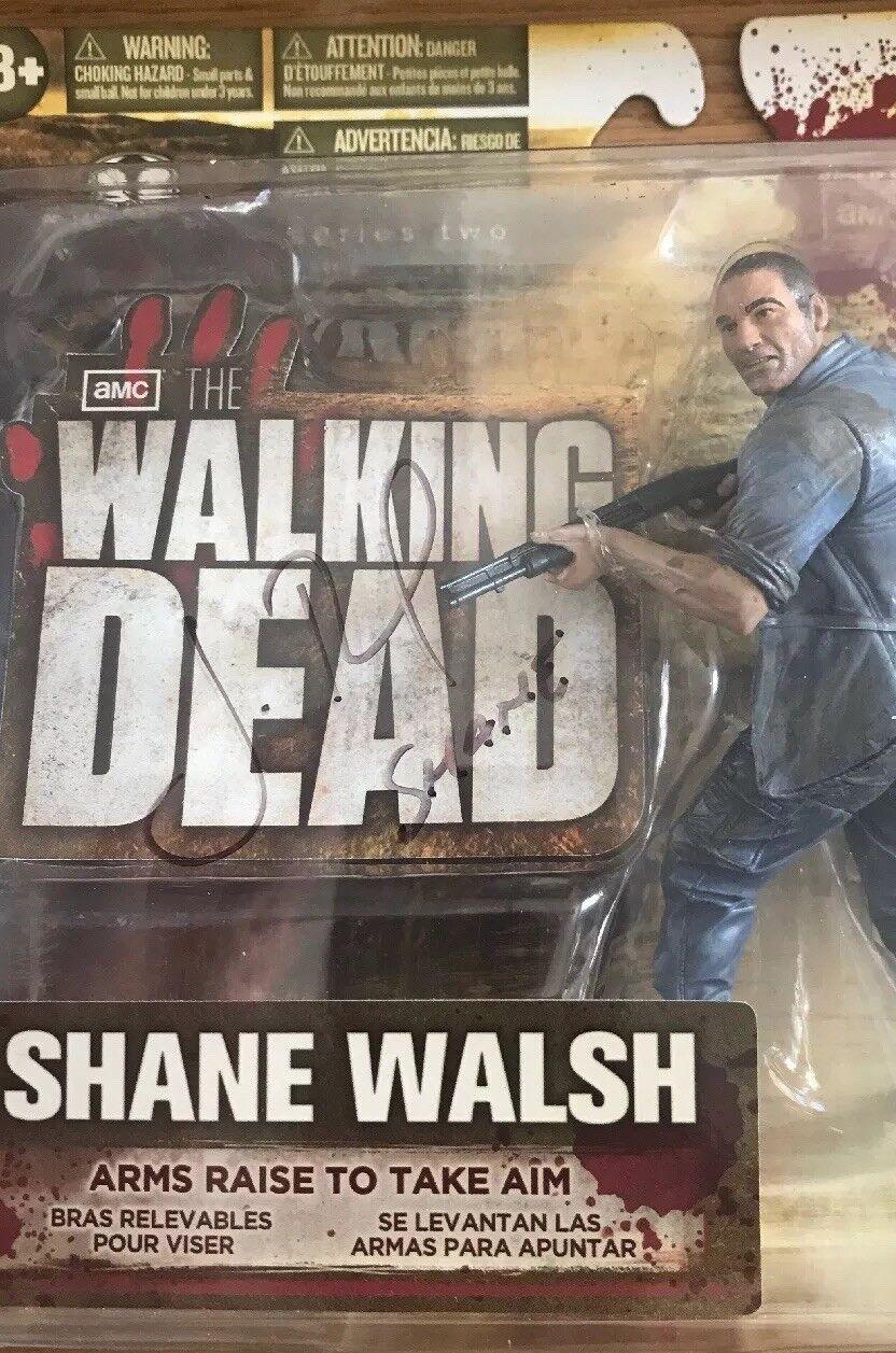 WALKING DEAD DEAD DEAD McFarlane - Shane Walsh John Bernthal Autograph Signed Figure fb37ca