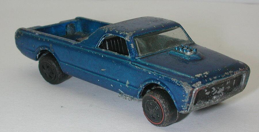 Rossoline Hotwheels blu 1970 Skyshow Fleetside oc16582
