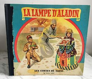 La-Lampada-Aladdin-I-Fiabe-Di-Zia-Del-Duca-Parigi-1954