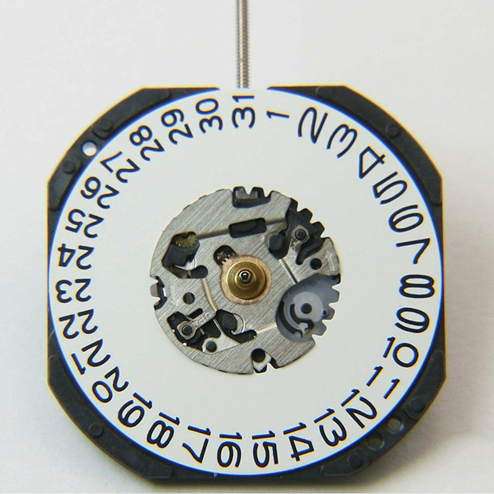 Date at 3/' O/'Clock Movement Date at 6/' O/'Clock Movement VX42E Quarzuhr Ersatz