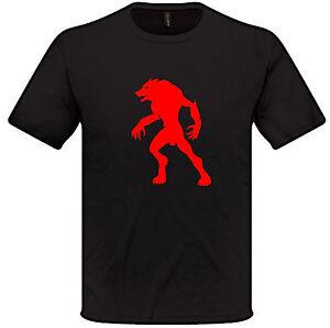 Werewolf-T-Shirt-S-XXL-Mens-Womens-Fantasy-RPG-Lycanthropy
