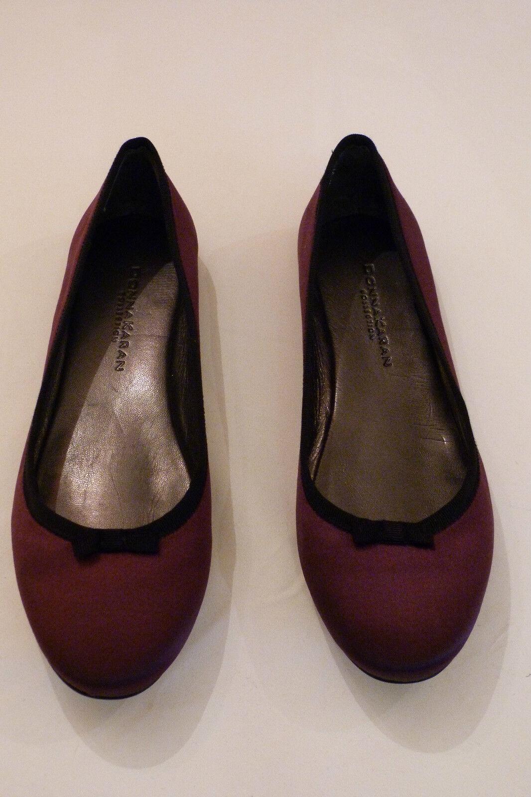 Nuovo di Purple Zecca Donna Karan Collection Purple di Pompa Scarpa. Taglia EUR 37 1/2 /2 47410b