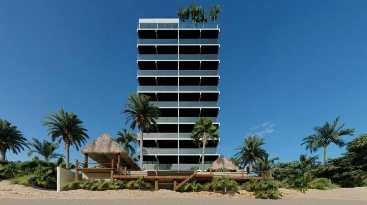 Departamento en venta frente al mar Chixchulub Yucatan.