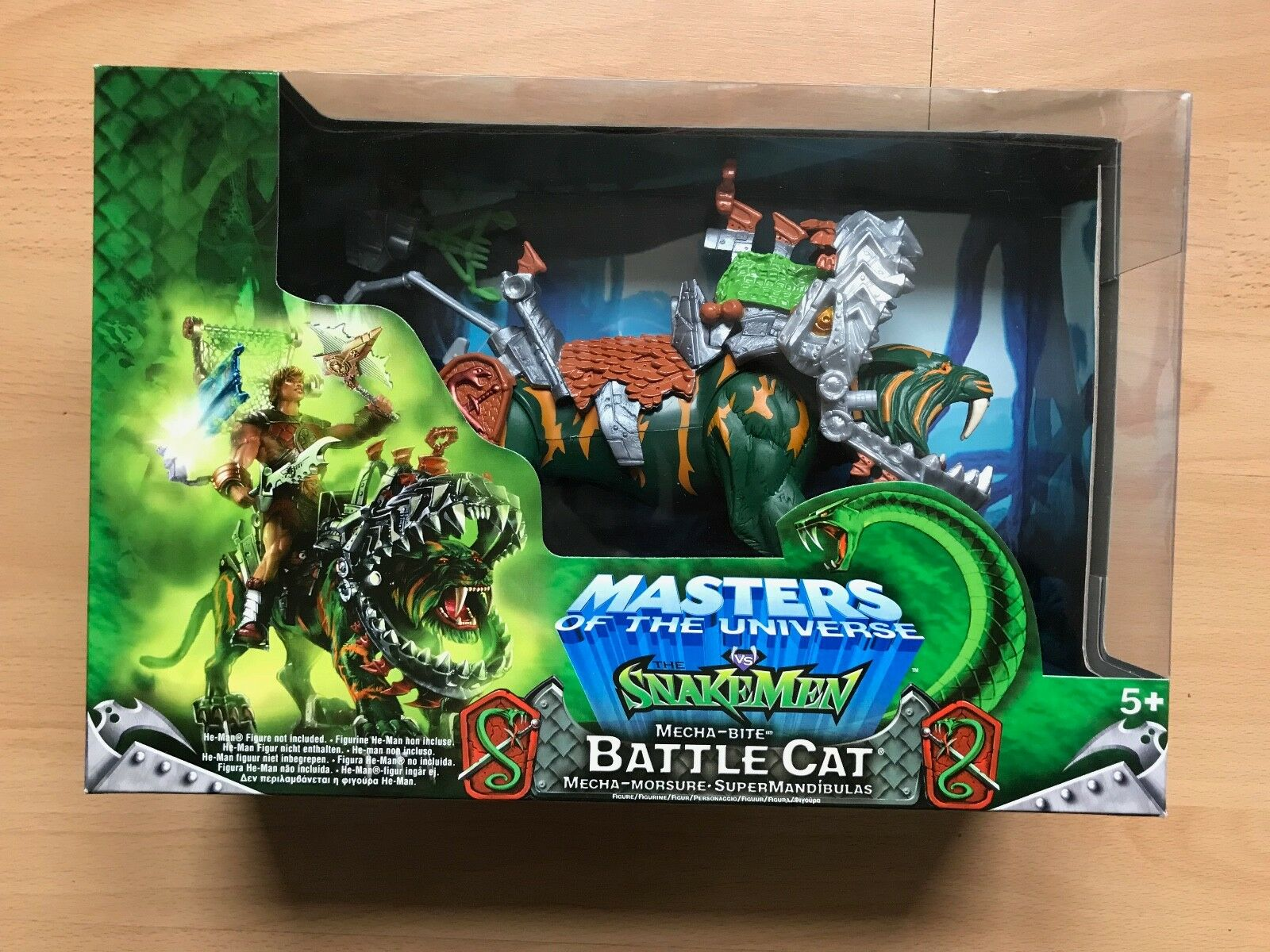 Masters of The Universe MOTU vs The Snakemen - Mecha-Bite Battle Cat Figur
