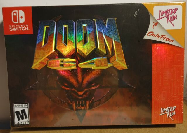 Doom 64 Classic Edition - Nintendo Switch (Best Buy) Limited Run Games Exclusive