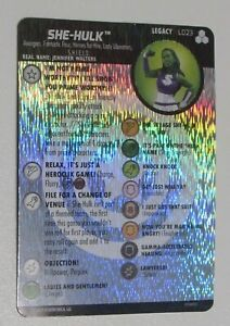 SHE-HULK-L023-LEGACY-CARD-Fantastic-Four-Future-Foundation-Heroclix