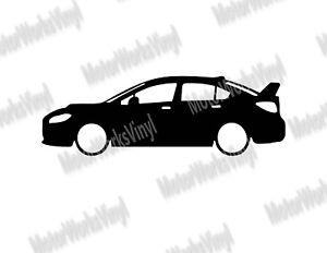 Subaru Wrx Sti Sticker Silhouette Vinyl Sticker Decal Car Raptor
