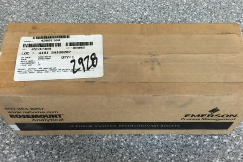 NEW FACTORY SEALED ROSEMOUNT ANALYTICAL AccuGlass SENSOR 399VP09301