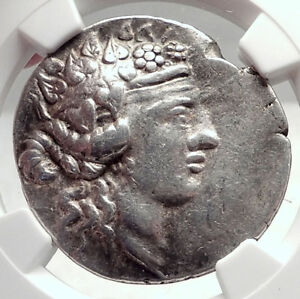 THASOS-Thrace-148BC-Authentic-Ancient-Silver-Greek-Tetradrachm-Coin-NGC-i72632