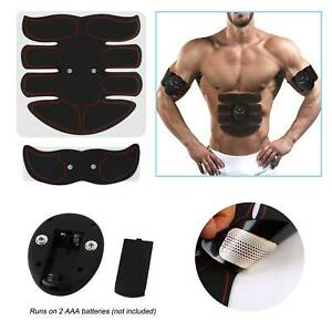 New Fashion Electric Muscle Toner Machine Abs Toning Belt Simulation Fat Burner Belly Shaper Abdominal Exercisers