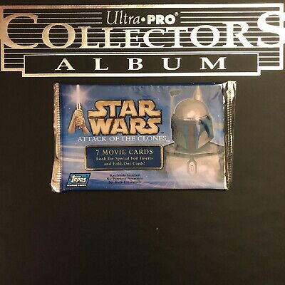 Booster-star wars attack clones topps 7 cards Toys & Hobbies ...