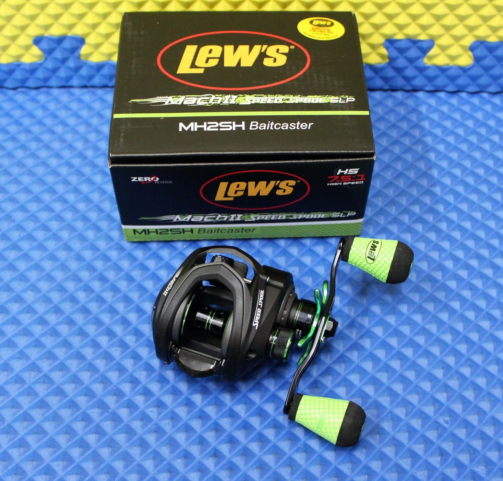 Lew's® MachII Speed Spool® Right-Handed SLP Right-Handed Spool® Baitcaster Reel MH2SH 980195