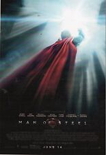 """Superman  Man Of Steel     Glossy Picture  """" Mini Film Poster """"  (P106)"""