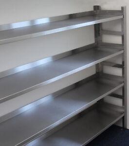 Extra Shelf for Stainless Steel Shelf Racking. 1 shelf only. (not full rack)