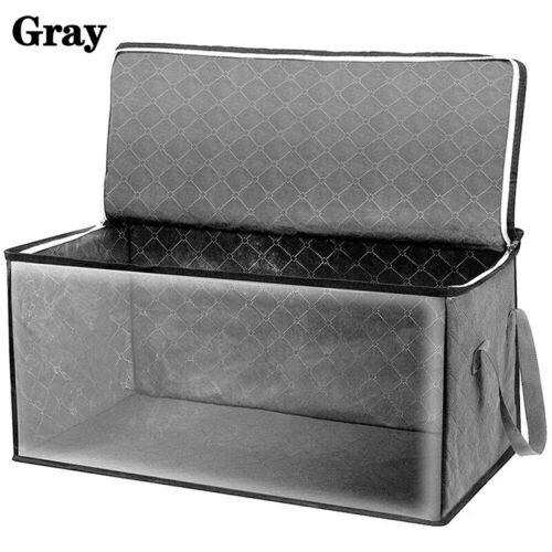 Quilt Foldable Clothes Storage Stackable Bins Organizer Box Closet Portable