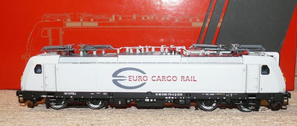 HS ACME AC 65415 E-Lok BR 186 l'euro CARGO RAIL SAS A C F. corrente alternata