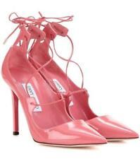 48e70b60f08b item 2 Jimmy Choo Vita 100 Pink Patent Leather Pumps Pointy Toe Lace Up  Shoe 37 -Jimmy Choo Vita 100 Pink Patent Leather Pumps Pointy Toe Lace Up  Shoe 37