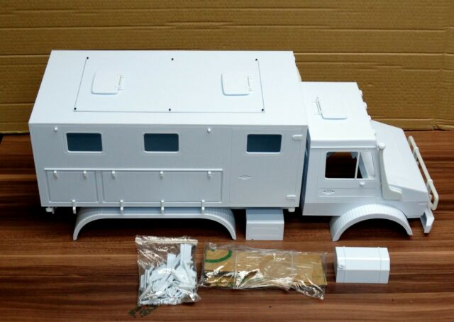 1 10 Scale Amg 6x6 Truck Body Shell Team Raffee Co For Sale Online Ebay