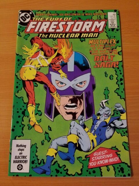 The Fury of Firestorm #47 ~ NEAR MINT NM ~ (1986, DC Comics)