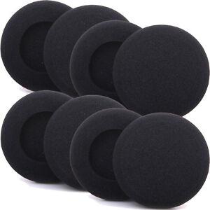 8 Repuesto Auricular Auriculares de oído de espuma almohadilla cubierta 50mm  </span>