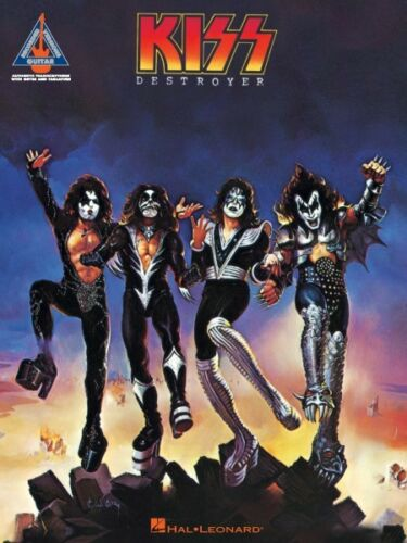 Kiss Destroyer Sheet Music Guitar Tablature Book NEW 000690355