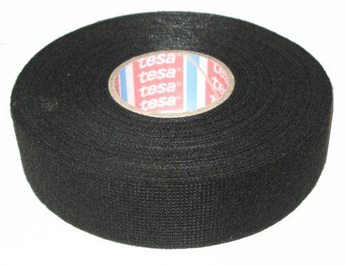 TESA kfz Gewebeband mit Vlies 51608 25mm x 25m Klebeband Isoband Tape MwSt neu