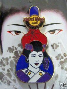 Universale-Osaka-Giapponese-Geisha-Girl-Chitarra-Custodia-Serie-Hard-Rock-Cafe-A