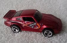 Hot Wheels Porsche 930 1:64 Diecast, Metallic Red Car out of package, Minty 98