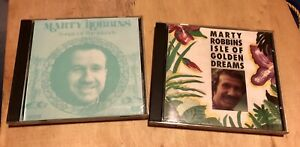 Lot Of 2 Marty Robbins CDs- Songs Of The Islands/ Isle Of Golden Dreams