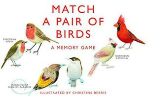 Match-a-Pair-of-Birds-A-Memory-Game-by-Mike-Unwin-Christine-Berrie-Hardcover