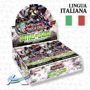 Box-Battaglie-della-Leggenda-Vendetta-dell-039-Eroe-ITALIANO-BLHR-YUGIOH