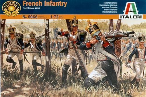 French Infantry Napol.Wars Kit 1:72 Italeri IT6066 Modellbau