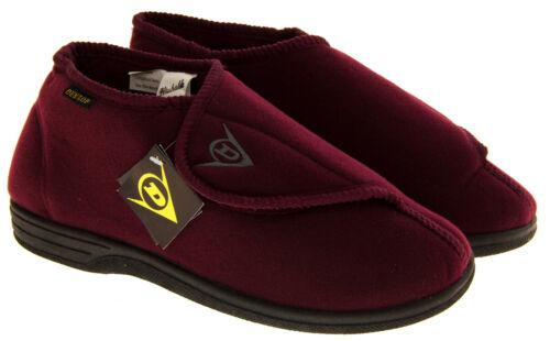 per Size Borgogna 7 9 10 Pantofole Mens stivali ortopediche 8 Dunlop regolabili 12 11 dwxwvqCX0