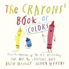 The Crayons' Book of Colors by Drew Daywalt and Oliver Jeffers (2016, Board Book)