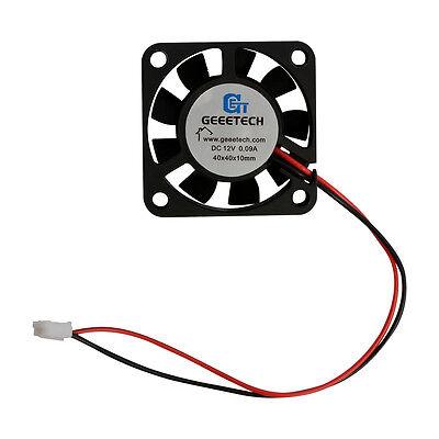 Geeetech Mini Cooler Fan 12V 40X40x10mm for 3D Printer stepper motor extruder