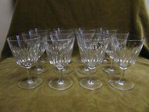 12-verres-a-eau-cristal-Baccarat-mod-cassino-water-glasses