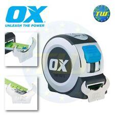 OX Tools Pro 8M Tape Measure - 26Ft 8 Metre Class II Measuring Blade P020908