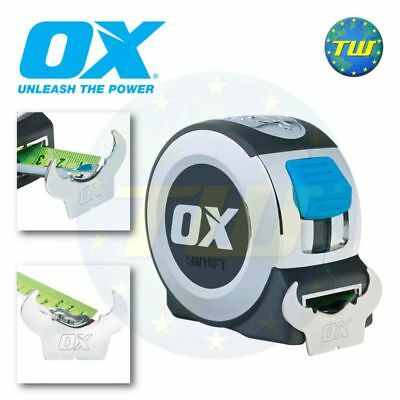 OX Tools Pro 8M ruban à mesurer 26Ft 8 mètres classe ii de mesure lame P020908