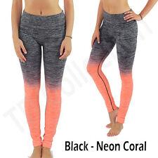 1032e677b0 item 4 Women's Slim Two Tone Workout Full Length /Capri Yoga Pants TD - Women's Slim Two Tone Workout Full Length /Capri Yoga Pants TD
