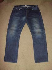 PRPS Men's 38 x 31 IMPALA DARK AGED Straight Leg Made in Japan Jeans P39 P17C 01