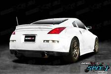NISSAN 350Z DRIFT body kit bodykit REAR bumper LIP BLACK