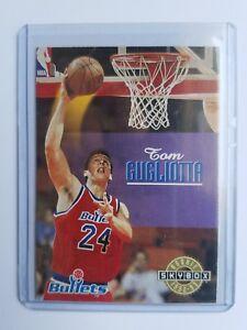 1992-93-SkyBox-Washington-Bullets-Basketball-Card-405-Tom-Gugliotta-Rookie