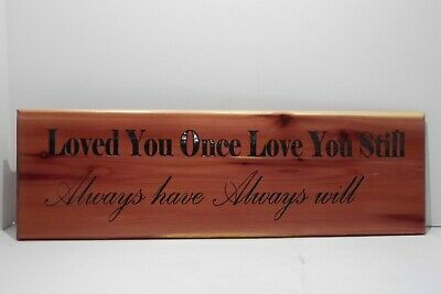 Hand Painted Wood Sign Home Wall Decor