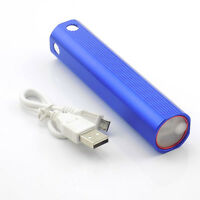 Super Bright Led Flashlight Flash Torch Lamp Light Usb Powerbank Q5 Rechargeable