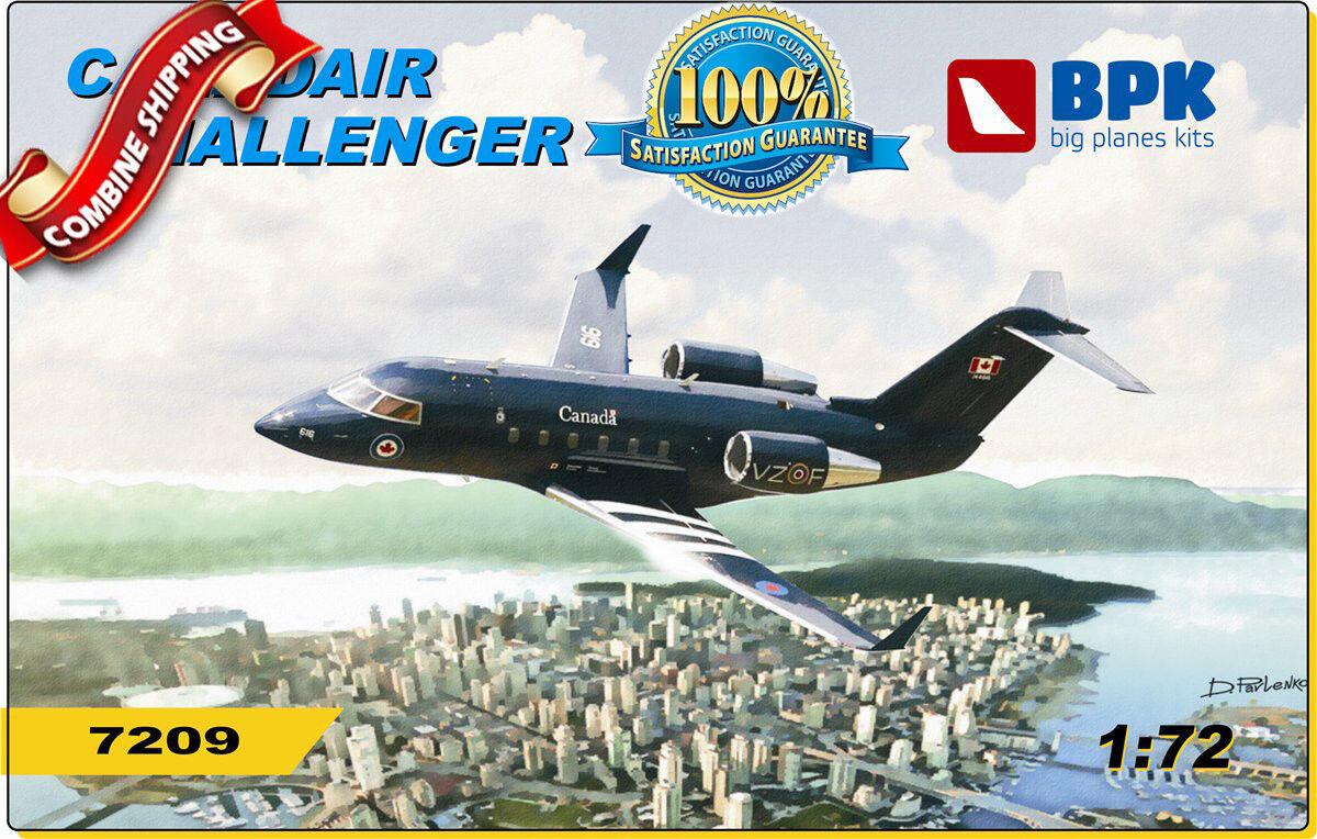 Canadianair Challenger CL 601 (fotograbado, piezas de resina, calcomanías) calcomanías) calcomanías) modelo 1   72 bpk 7209 09e